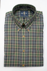 Rainwater's Hunter and Grey Plaid - Rainwater's Men's Clothing and Tuxedo Rental