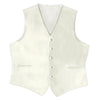 Ivory Satin Rental Vest - Rainwater's Men's Clothing and Tuxedo Rental