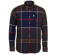 Barbour Tartan 3 Plaid Tailored Fit Button Down Shirt in Classic Tartan - Rainwater's