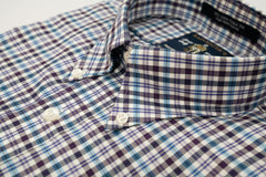 Rainwater's Purple and Blue Small Plaid - Rainwater's Men's Clothing and Tuxedo Rental