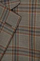 Rainwater's Luxury Collection Brown Plaid Super 150's Sport Coat - Rainwater's Men's Clothing and Tuxedo Rental
