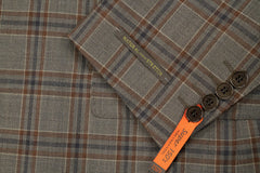 Rainwater's Luxury Collection Brown Plaid Super 150's Sport Coat - Rainwater's