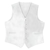 White Satin Vest - Rainwater's Men's Clothing and Tuxedo Rental