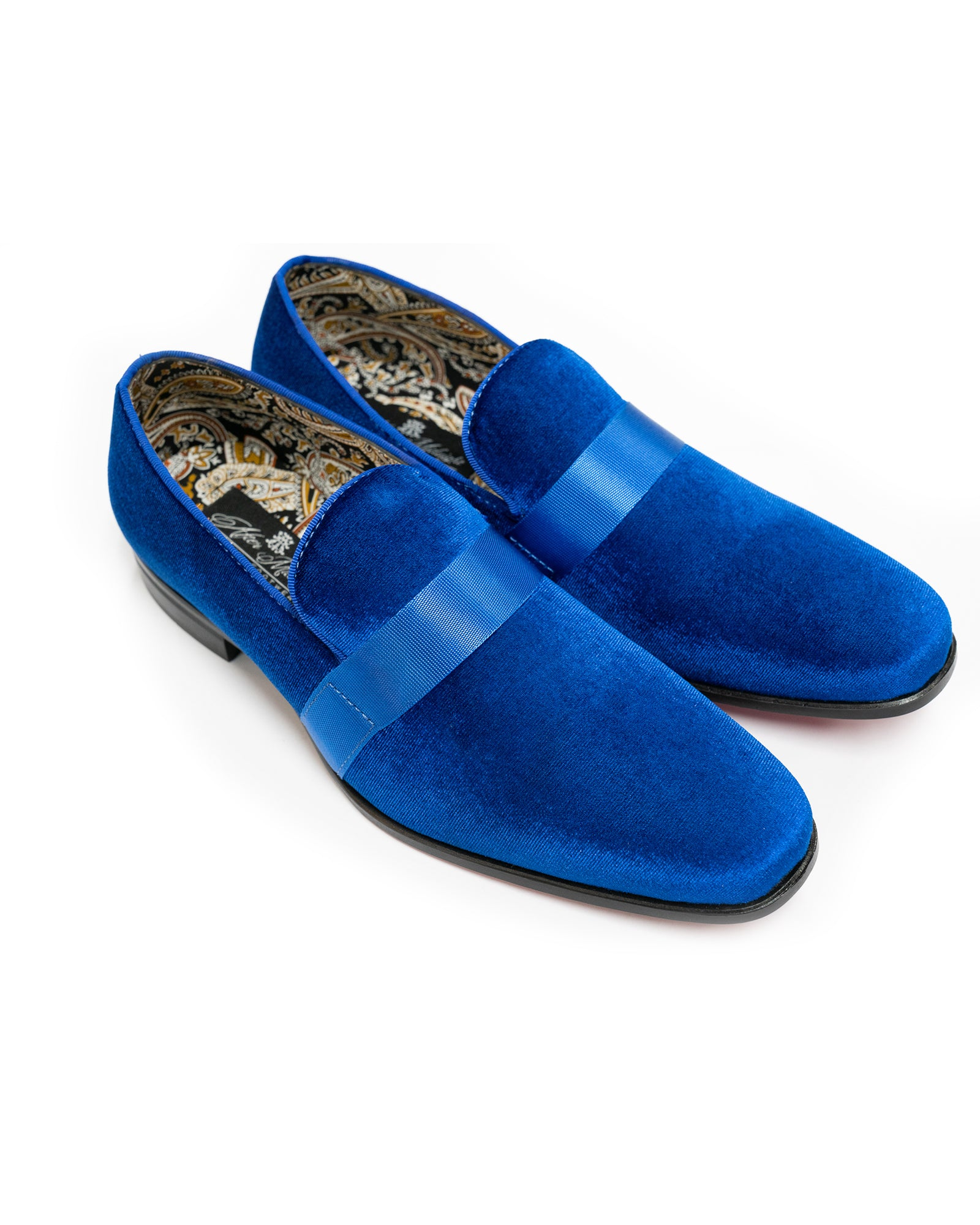 After Midnight Ribbon Band Formal Loafer in Royal Blue - Rainwater's