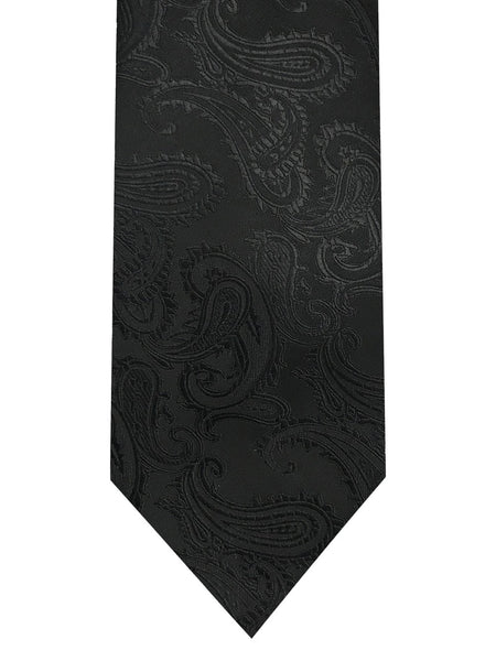 Tie In Jacquard Paisley & Pocket Square - Rainwater's