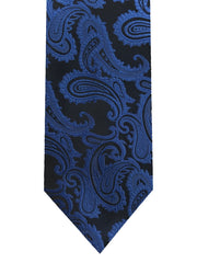 Jacquard Paisley Long Tie & Pocket Square - Rainwater's Men's Clothing and Tuxedo Rental