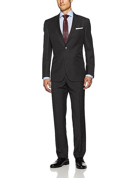 Rainwater's Superfine Blend Black Slim Fit Suit - Rainwater's Men's Clothing and Tuxedo Rental
