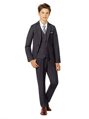 Boys Charcoal Suit Rental - Rainwater's Men's Clothing and Tuxedo Rental