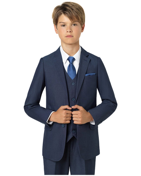 Boys French Blue Suit Rental - Rainwater's Men's Clothing and Tuxedo Rental