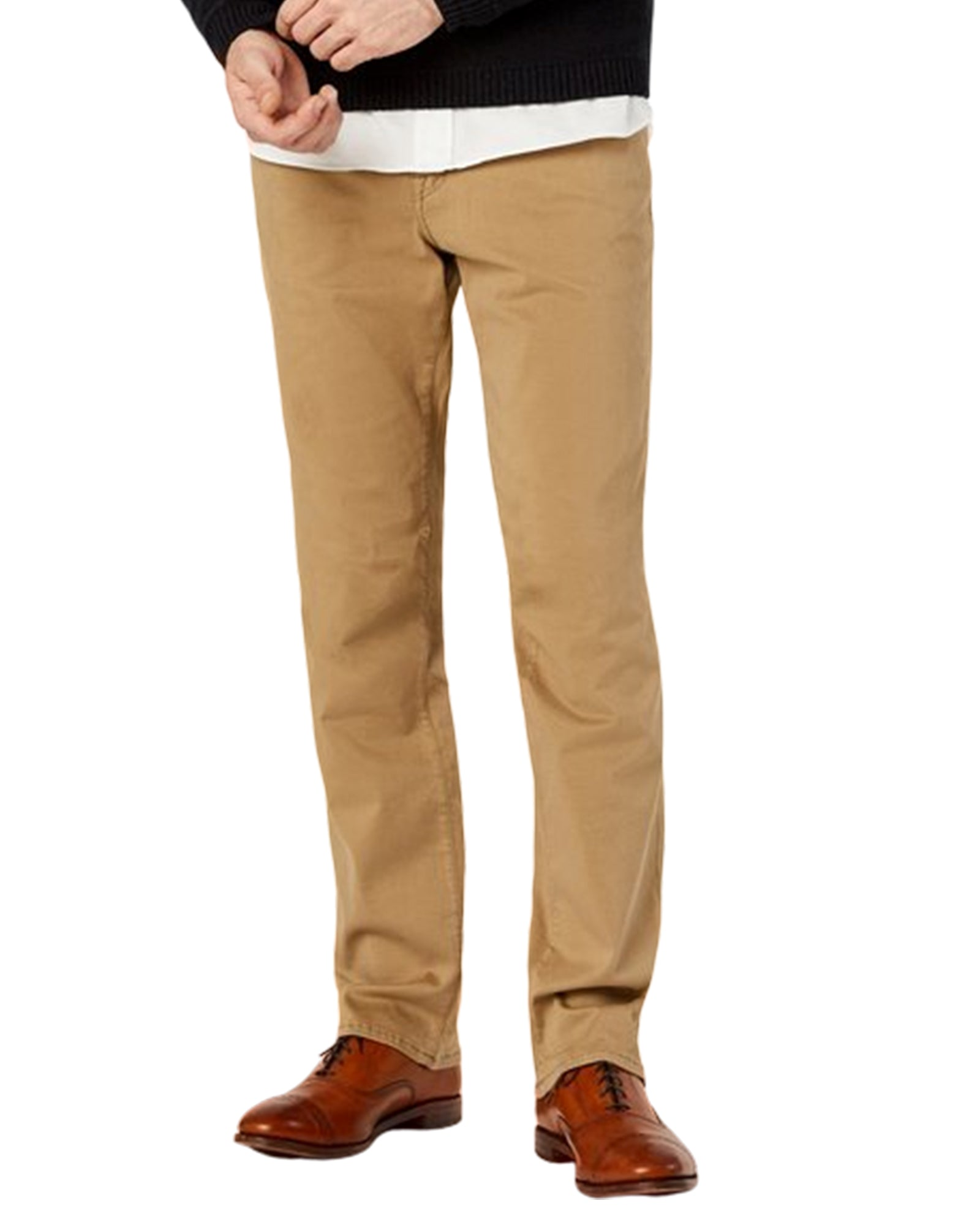 Grand River British Khaki Classic Fit Stretch Jeans - Rainwater's Men's Clothing and Tuxedo Rental