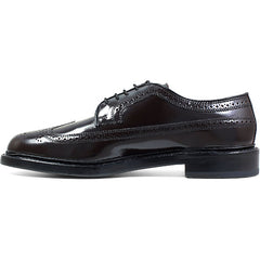 Florsheim Kenmoor Wingtip Oxford in Burgundy - Rainwater's Men's Clothing and Tuxedo Rental