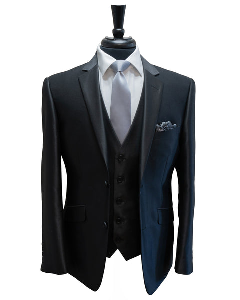 Luster Charcoal Suit Rental - Rainwater's Men's Clothing and Tuxedo Rental