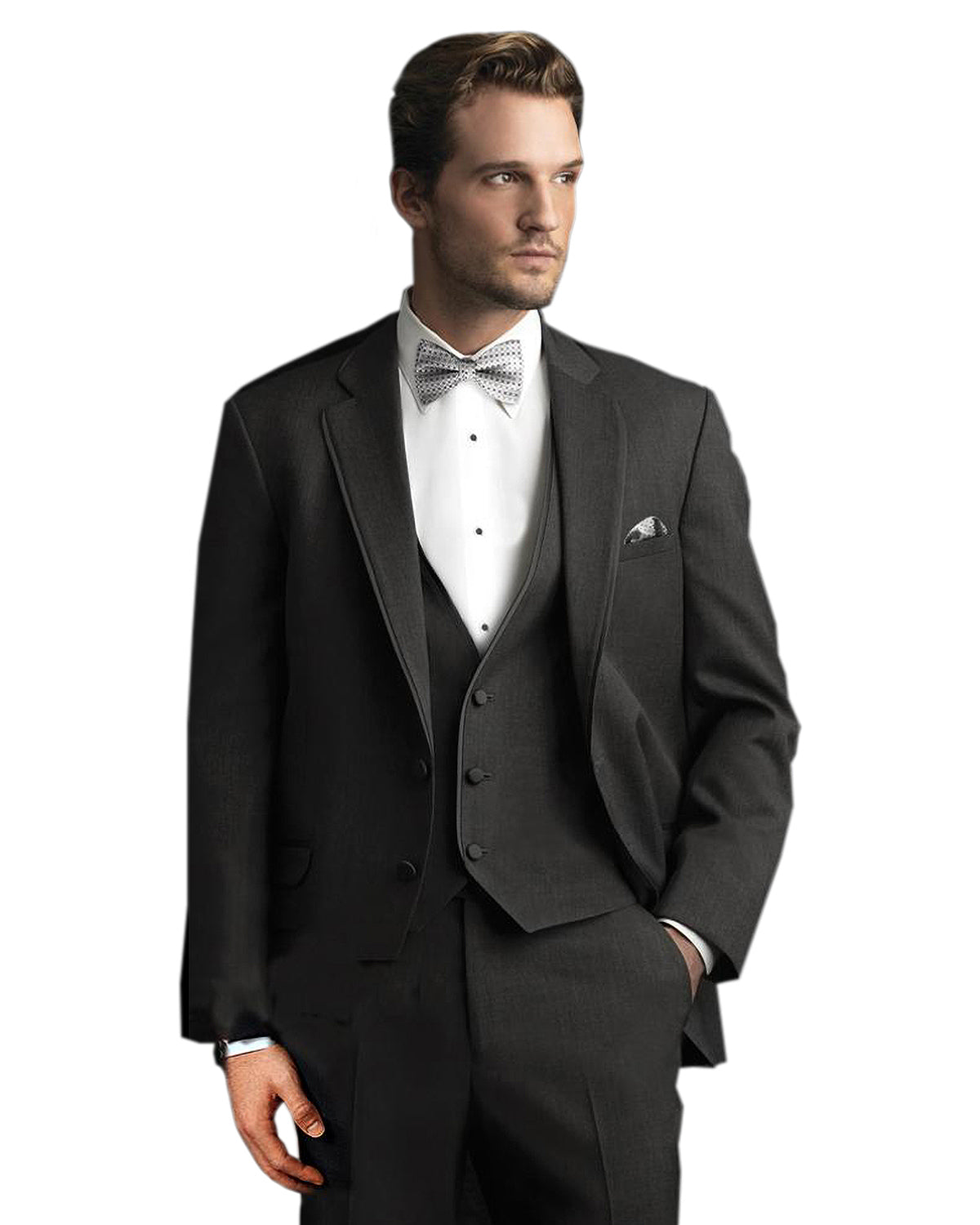 Charcoal Tux Rental - Rainwater's
