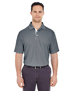Rainwater's Birdseye Polo in Charcoal-White - Rainwater's Men's Clothing and Tuxedo Rental