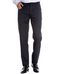Charcoal Stretch Slim Fit 5-Pocket Jean - Rainwater's Men's Clothing and Tuxedo Rental