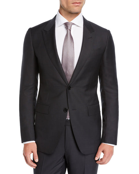 Rainwater's Luxury Collection Charcoal Peak Lapel Suit - Rainwater's Men's Clothing and Tuxedo Rental