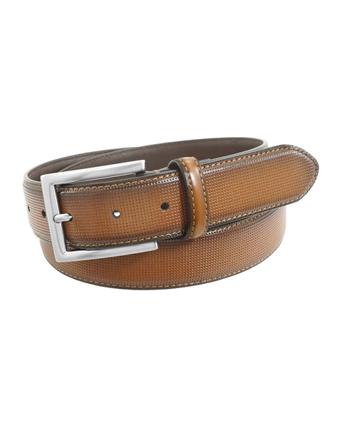 Florsheim Sinclair Cognac Belt - Rainwater's Men's Clothing and Tuxedo Rental