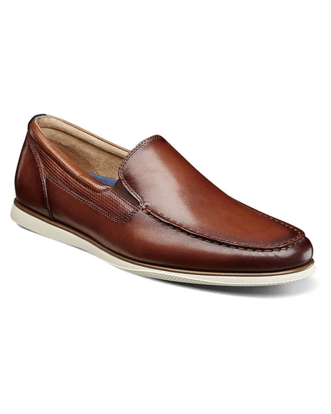 Florsheim Atlantic Slip On Sneaker In Cognac - Rainwater's Men's Clothing and Tuxedo Rental