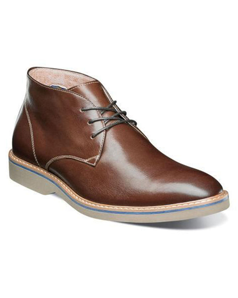 Florsheim Union Plain Toe Chukka Boot in Chocolate - Rainwater's