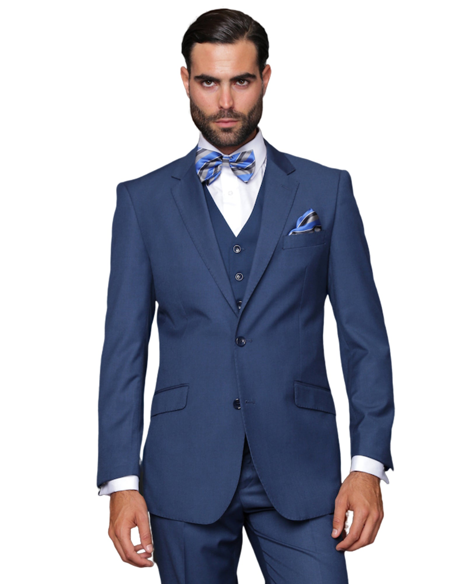 French Blue Suit Rental - Rainwater's Men's Clothing and Tuxedo Rental