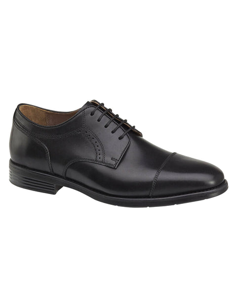 Johnston & Murphy XC4 Branning Cap Toe in Black - Rainwater's Men's Clothing and Tuxedo Rental