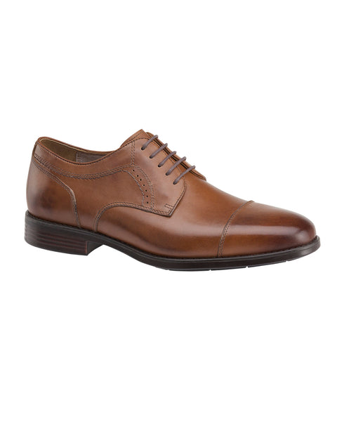 Johnston & Murphy XC4 Branning Cap Toe in Tan - Rainwater's