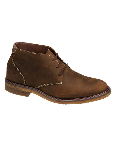 Johnston & Murphy Copeland Chukka in Tan - Rainwater's