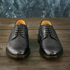 Florsheim Kenmoor Wingtip Oxford in Black - Rainwater's