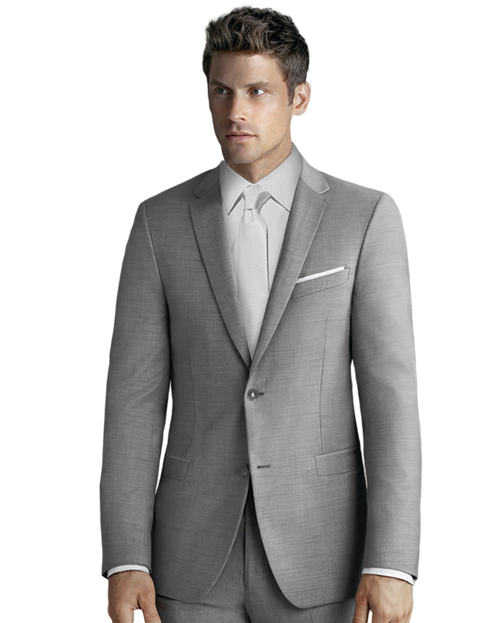 Light Grey Suit Rental - Rainwater's