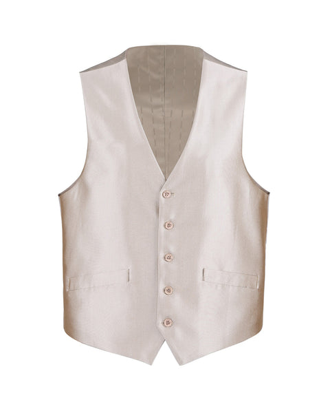 Suit Vest Luster Champagne - Rainwater's Men's Clothing and Tuxedo Rental