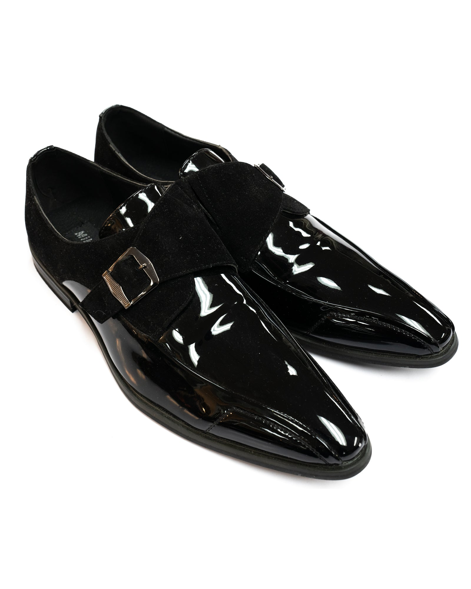 Miko Lotti Formal Monk Strap Shoe in Black - Rainwater's Men's Clothing and Tuxedo Rental