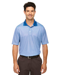 Rainwater's Mini Stripe Polo in Nautical-White - Rainwater's Men's Clothing and Tuxedo Rental