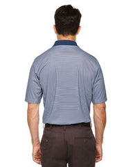Rainwater's Mini Stripe Polo in Navy-White - Rainwater's