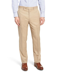 Beige Superlux Flat Front Dress Slack - Rainwater's Men's Clothing and Tuxedo Rental
