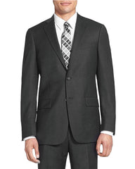 Rainwater's Superfine Blend Charcoal Classic Fit Suit - Rainwater's Men's Clothing and Tuxedo Rental