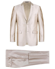 Luster Slim Fit Suit in Champagne - Rainwater's Men's Clothing and Tuxedo Rental