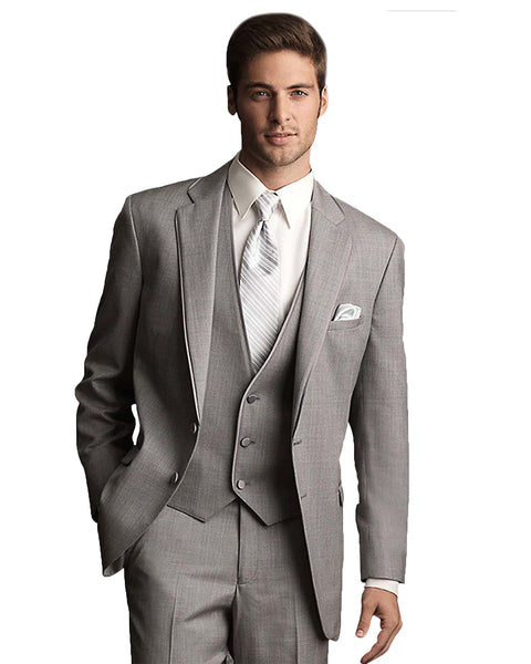 100% original super popular offer discounts Light Grey Tuxedo Rental