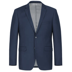 Rainwater's Fine tropical weight man made fabric Navy Slim Fit Suit - Rainwater's