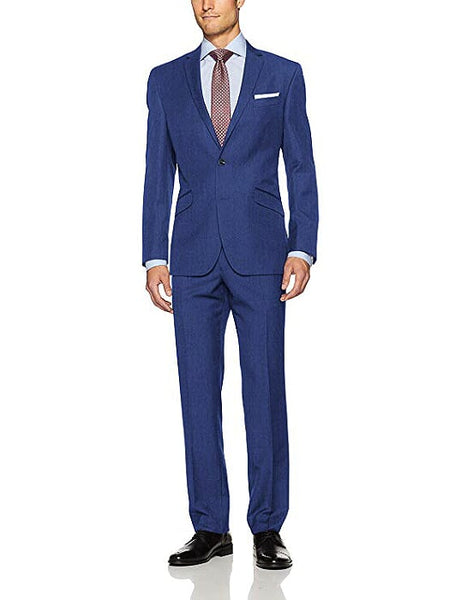 Rainwater's Superfine Blend Indigo Slim Fit Suit - Rainwater's Men's Clothing and Tuxedo Rental