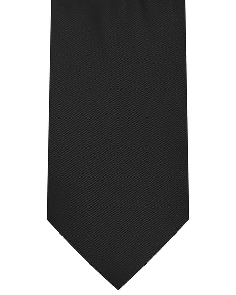 Solid Satin Long Tie - Rainwater's Men's Clothing and Tuxedo Rental
