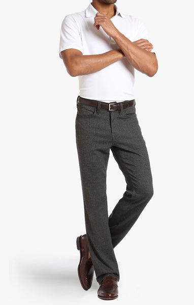 34 Heritage Charisma Fit Grey Feather Tweed Jeans - Rainwater's Men's Clothing and Tuxedo Rental