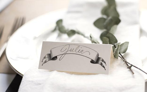 Banner Place Cards