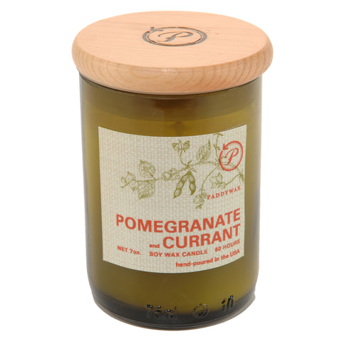 Pomegranate & Currant Eco Candle by paddywax at local housewares store Division IV in Philadelphia, Pennsylvania