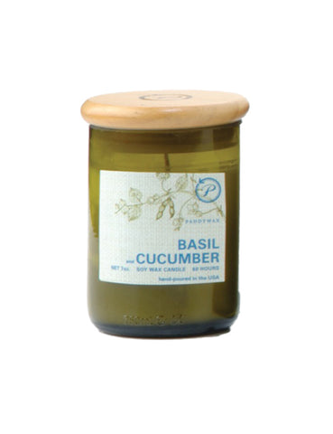 Basil & Cucumber Eco Candle by paddywax at local housewares store Division IV in Philadelphia, Pennsylvania
