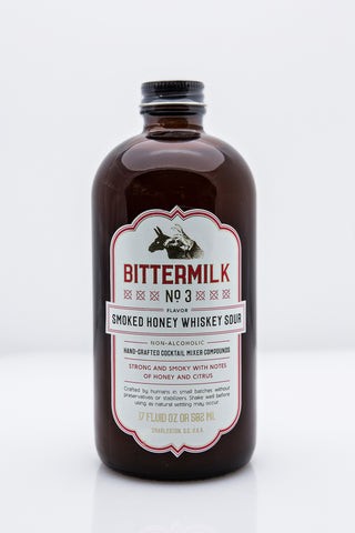 Bittermilk No. 3 - Smoked Honey Whiskey Sour by Bittermilk at local housewares store Division IV in Philadelphia, Pennsylvania