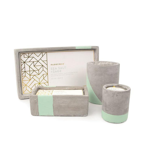 Sea Salt & Sage Urban Concrete Candle