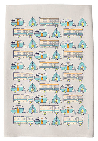 Campers Hand Towel by coast & cotton at local housewares store Division IV in Philadelphia, Pennsylvania