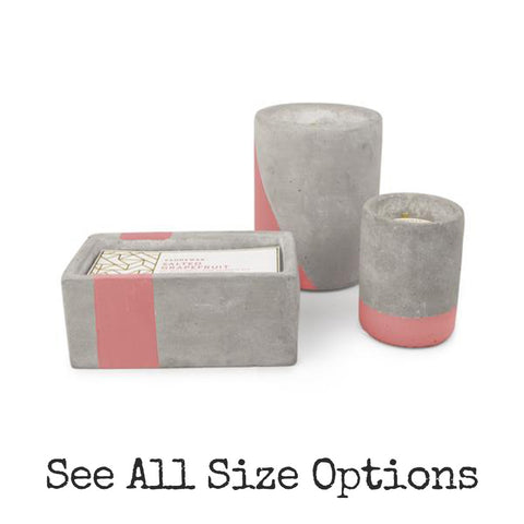 Salted Grapefruit Urban Concrete Candle by paddywax at local housewares store Division IV in Philadelphia, Pennsylvania