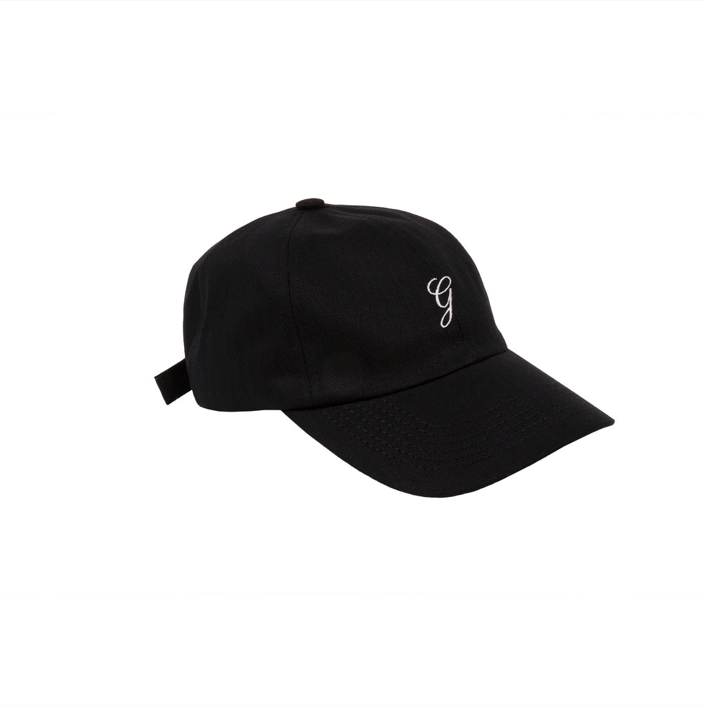 Herringbone Cap Black