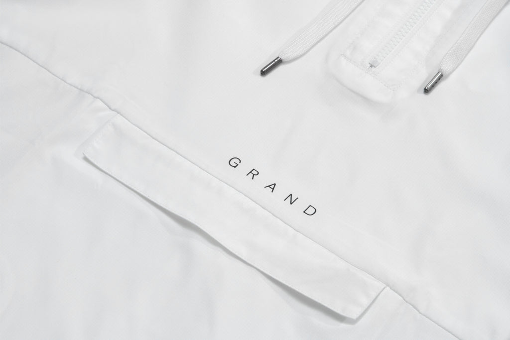 Grand Windbreaker White